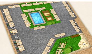 Standplatzplan